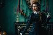 Leinwanddruck Bild - stylish elegant Duchess
