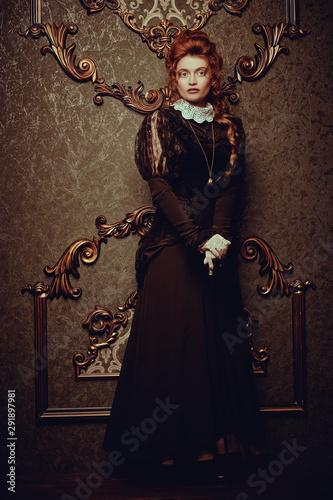 Fotografia  lady from the Victorian era