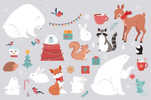 Winter Forest Animals, Merry C...