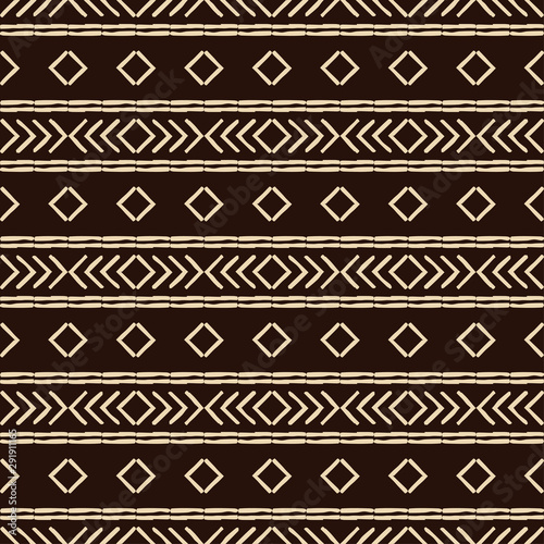 Foto auf AluDibond Boho-Stil Engraving. Ethnic boho seamless pattern. Lace. Embroidery on fabric. Patchwork texture. Weaving. Traditional ornament. Tribal pattern. Folk motif. Can be used for wallpaper, textile, wrapping, web.