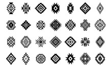 Aztec Vector Elements. Set Of ...