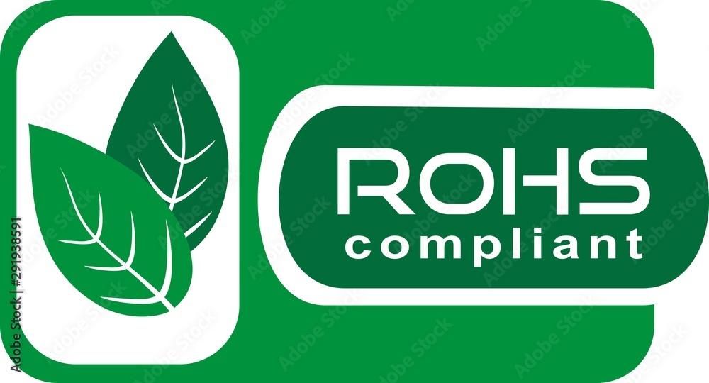 Fototapeta rohs compliant icon box CE