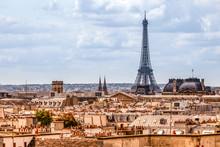 Classical Paris Skyline View F...