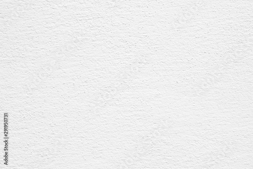 Horizontal image of clean white paper texture, Cement or concrete wall texture background, High resolution, Empty space for text.  - 291950731