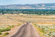 Jensen Or Vernal Utah Road Hig...
