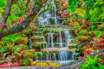 Fototapeta Wodospad waterfall in Thailand