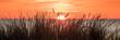 canvas print picture - sonnenuntergang am meer