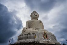 Rain Clouds Surround Big Buddha Phuket