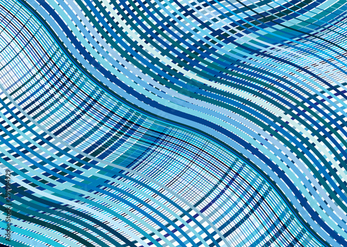 Fotografie, Tablou  Wavy, waving texture, pattern