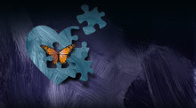 Graphic Abstract Butterfly Esc...