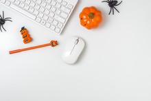 Happy Halloween Festival. Desk...