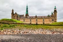 View Of Kronborg Castle In Elsinore, Denmark