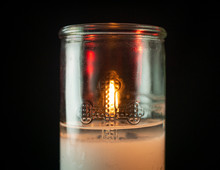 Candle, Background Dark Memorial