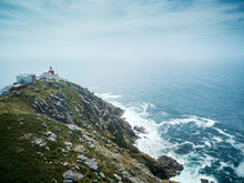 Lighthouse In Finisterre Or Fi...