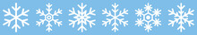 Snowflake Different Icons. Vec...