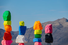 Morning View Of The Seven Magic Mountains