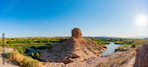 Hiking in the Shoreline Trail of Lake Mead National Recreation Area Wallpaper Mural