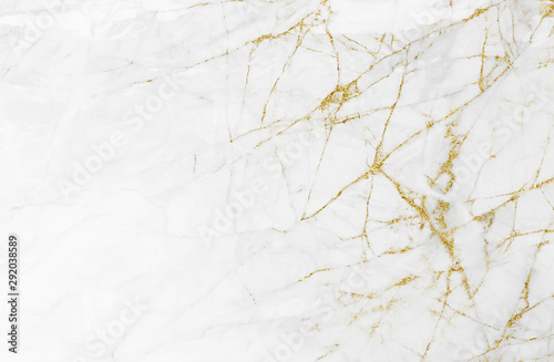 Fototapeta White gold marble texture pattern background with high resolution design for cover book or brochure, poster, wallpaper background or realistic business obraz na płótnie