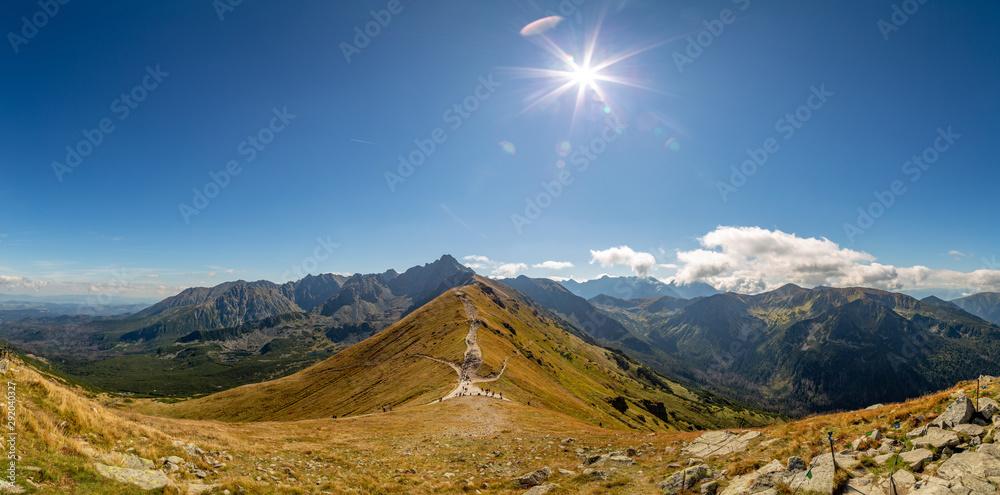 Fototapety, obrazy: Piękny widok w górach. Kopa Kondracka