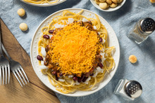 Homemade Cincinnati Chili Spaghetti