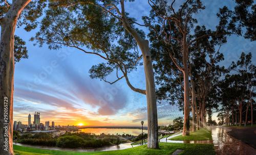 Perth Western Australia Sunrise from Kings park