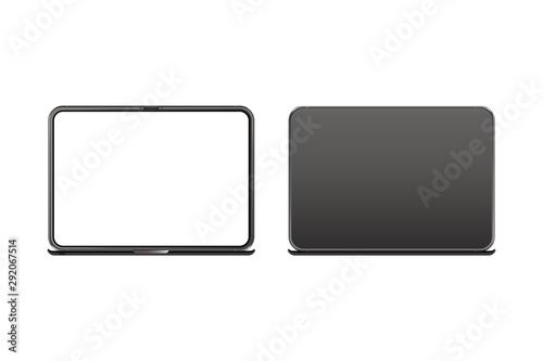 Photo Mock-up of realistic Laptop