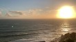 Sun setting over Clifton beach Atlantic seaboard side