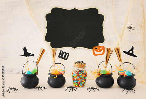 holidays image of Halloween Canvas Print