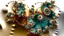 Spiral Fractal Art Image