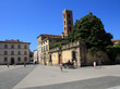 Lucca in Tuscany Italy, panorama and city views
