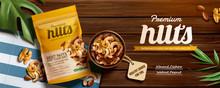Premium Nuts Banner Ads