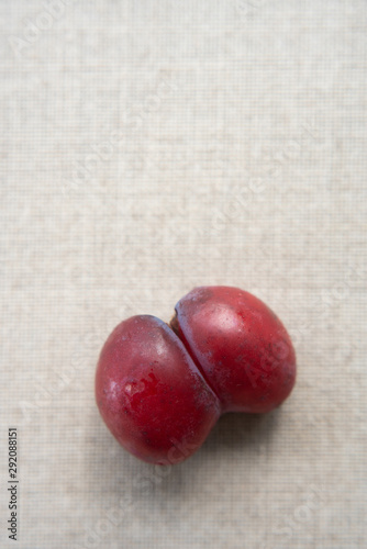 Ugly plums Wallpaper Mural