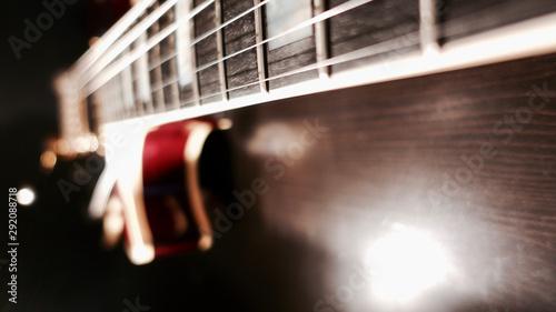electric guitar closeup - 292088718