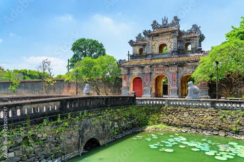 Wonderful view of the East Gate (Hien Nhon Gate), Hue