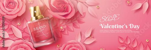 Valentine's Day sale perfume ads