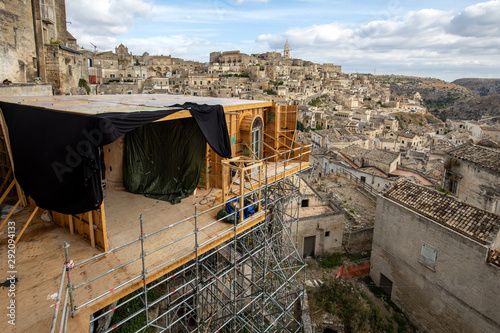 Fotomural Bond apartment from the movie  No Time to Die in Sassi, Matera, Italy