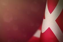 Denmark Flag For Honour Of Vet...