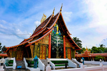 Wat Wang Khum Temple At Kuchinarai District Kalasin Province, Thailand.