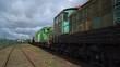 Locomotive PKP class SM41 and others (Kościerzyna/Poland)