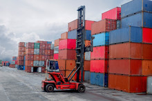 Container Handlers Storage Containers For Import And Export