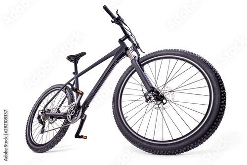 mountain bike against a white background Canvas