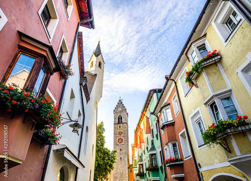 old town of sterzing in italy Canvas Print