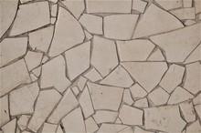 Texture Paving Slabs Of Irregular Geometric Shape