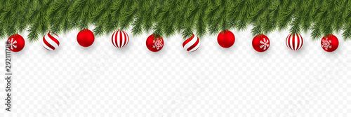 Fototapeta  Festive Christmas or New Year Background