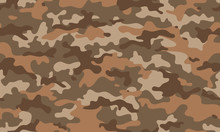 Texture Military Camouflage Repeats Seamless Army Brown Black Beige Mud Sand Hunting Print