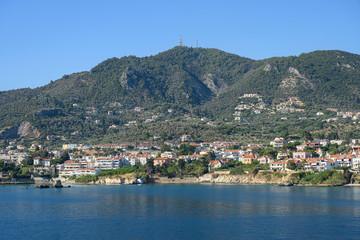 Insellandschaft bei Mytilini, Insel Lesbos