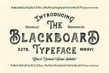 Handmade Modern Textured Font....