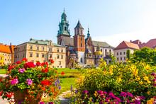 Summer View Of Wawel Royal Cas...