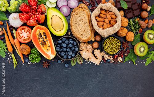 Fotografía Food background