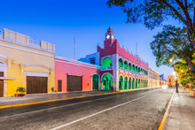 Merida, Mexico. City Hall In T...